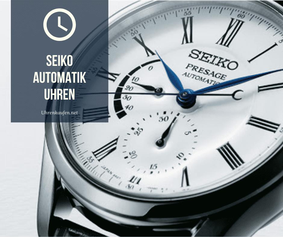 Seiko Automatik Uhr