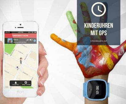 Kinderuhren mit GPS