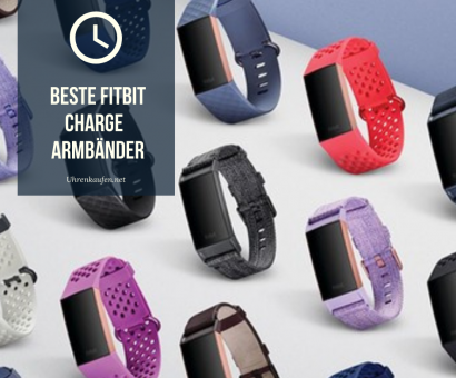 ▷ Beste Fitbit Charge Armbänder