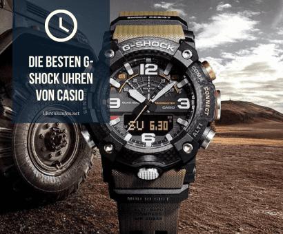 Die besten G-SHOCK Uhren von Casio