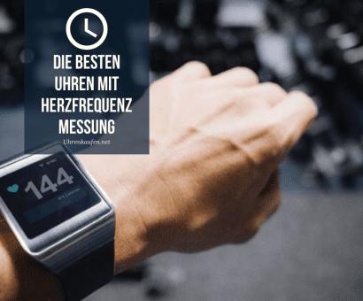 Die besten Uhren mit Herzfrequenzmessung