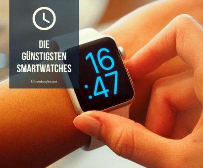Die günstigsten Smartwatches
