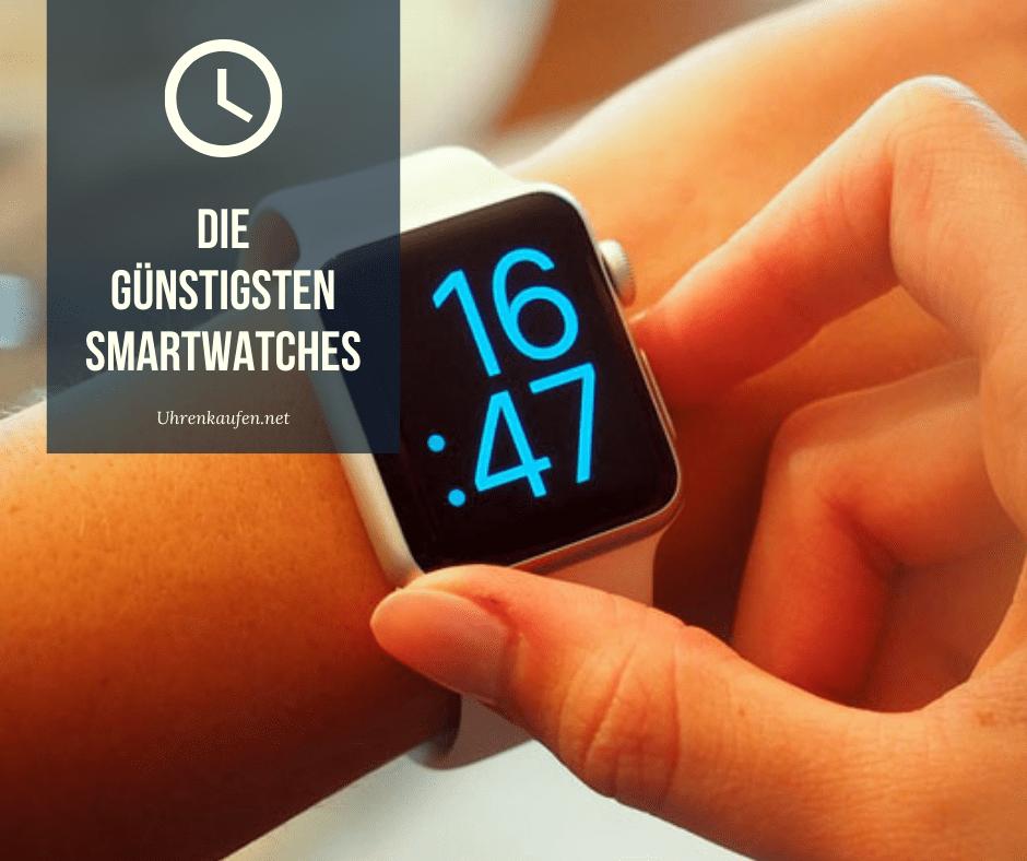 günstigsten Smartwatches