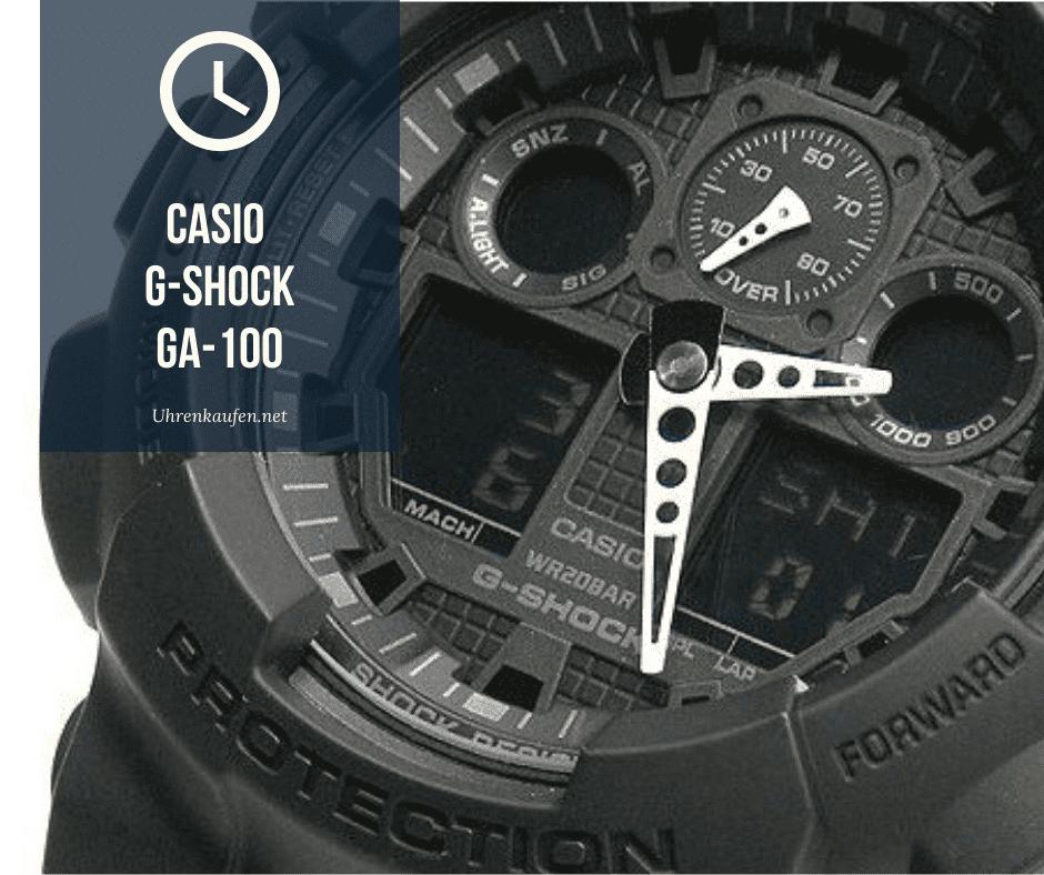 Casio g-shock ga-100