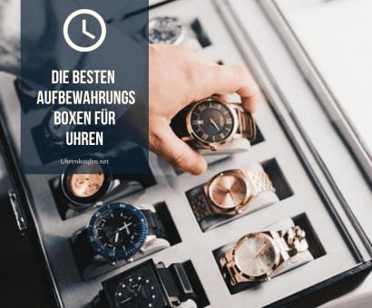 Aufbewahrungsboxen für Uhren