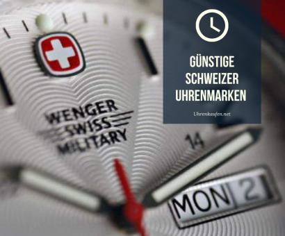 Günstige Schweizer Uhrenmarken