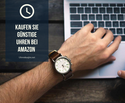 Kaufen Sie günstige Uhren bei Amazon